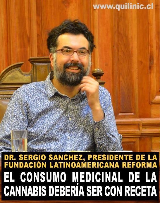 Doctor Sanchez «El consumo medicinal de la cannabis debería ser con receta»