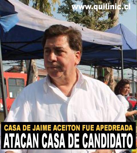 Atacan casa de candidato a alcalde