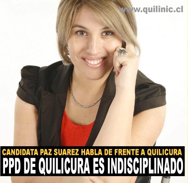 Entrevista a Paz Suarez, Candidata a concejal PPD