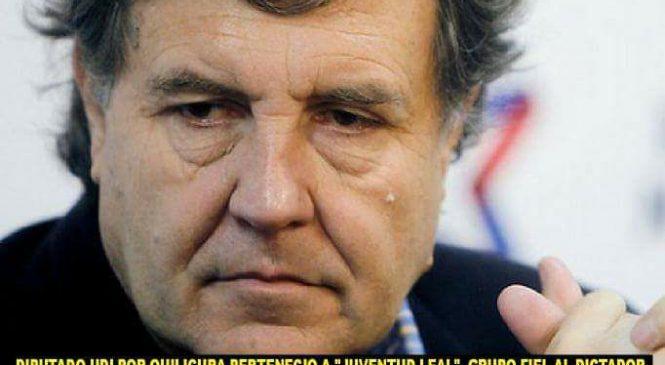 Diputado Melero, el «sapo» de Pinochet