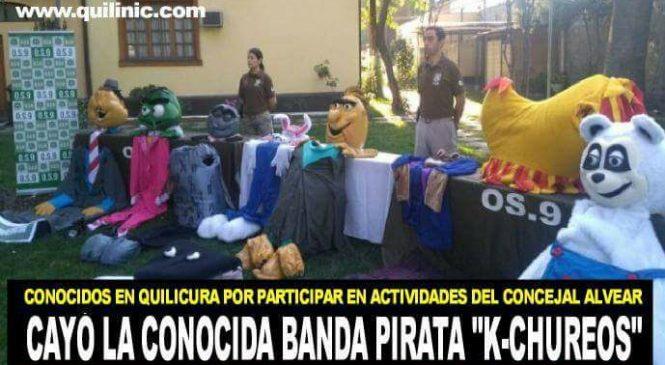 Carabineros detiene a «K-chureos», los piratas disfrazados