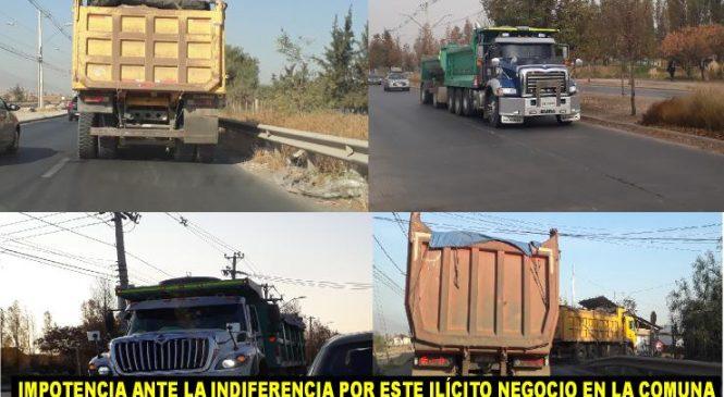 Camiones millonarios y el silencio de las autoridades