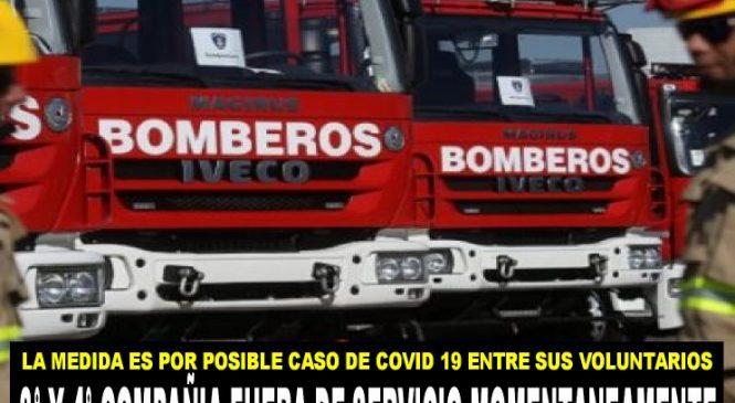 Posible caso de Covid-19 en Bomberos de Quilicura