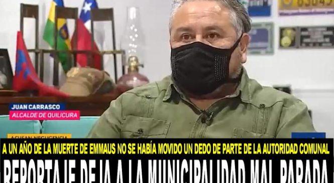 Reportaje de Chilevisión deja mal parada a la Municipalidad